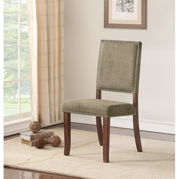 Trudel Upholstered Dining Chair by Red Barrel Studio