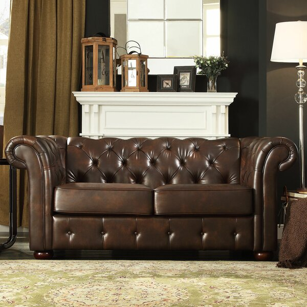 Online Review Vegard Tufted Chesterfield Loveseat by Willa Arlo Interiors by Willa Arlo Interiors