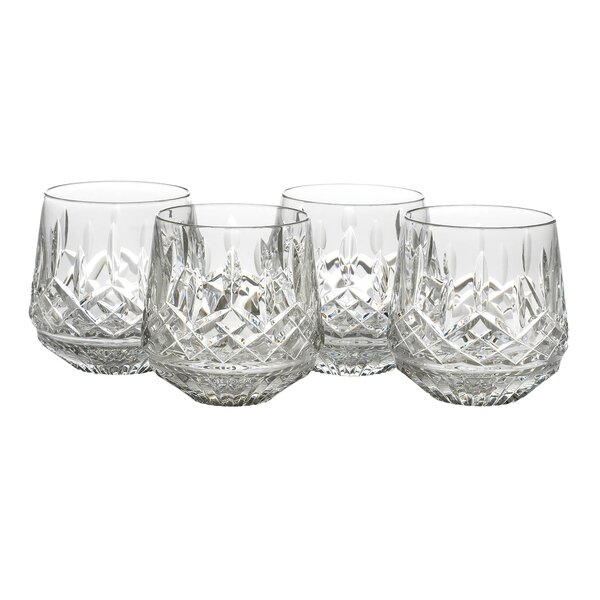 Lismore Old Fashioned 9 oz. Crystal Cocktail Glass (Set of 4) by Waterford