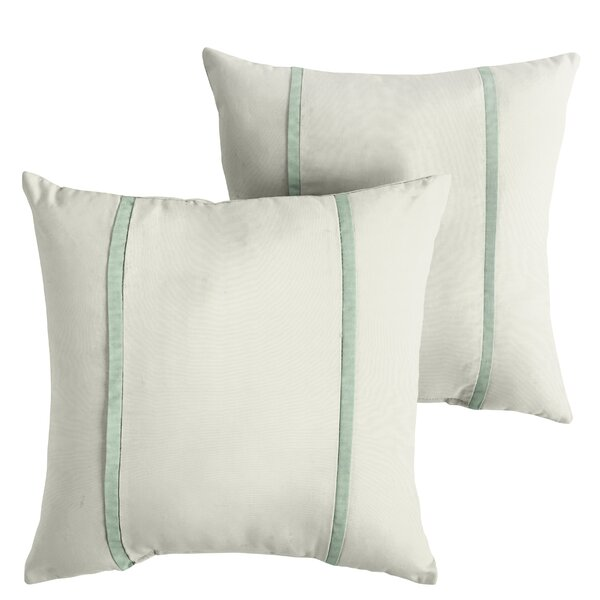 Holloman Indoor/Outdoor Sunbrella Throw Pillow (Set of 2) by Alcott Hill