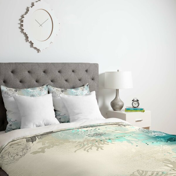 Seafoam Duvet Cover by East Urban Home