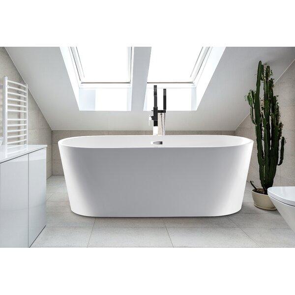 63 x 24 Scarlett Freestanding Soaking Bathtub by CastelloUSA