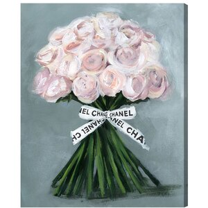 'The Perfect Bouquet' Painting Print on Wrapped Canvas by Willa Arlo Interiors
