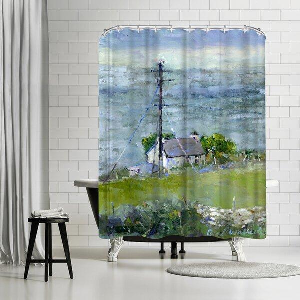 Richard Wallich Ireland Shower Curtain By East Urban Home.