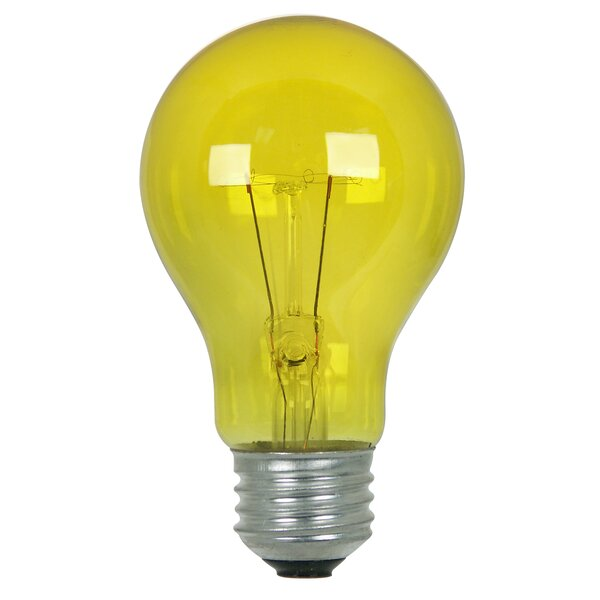 25W Yellow 120-Volt Incandescent Light Bulb by FeitElectric