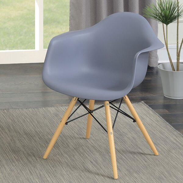 Rinehart Mid Century Modern Dining Chair (Set of 2) by Brayden Studio