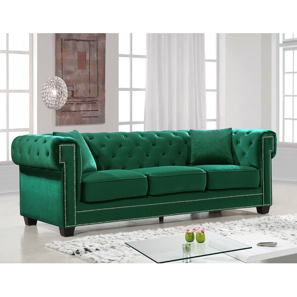 Priced Reduce Hilaire Chesterfield Sofa New Seasonal Sales are Here! 15% Off