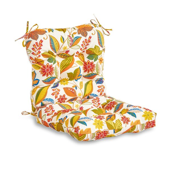 Rapoza Indoor/Outdoor Dining Chair Cushion by August Grove