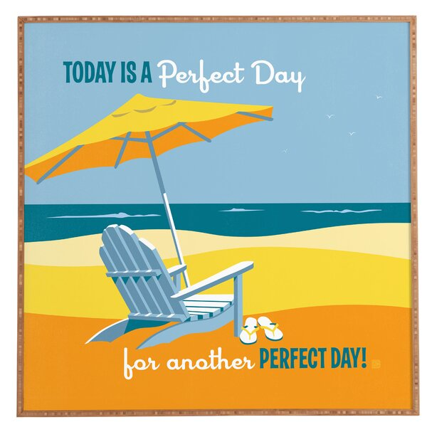 Another Perfect Day Framed Wall Art by East Urban Home