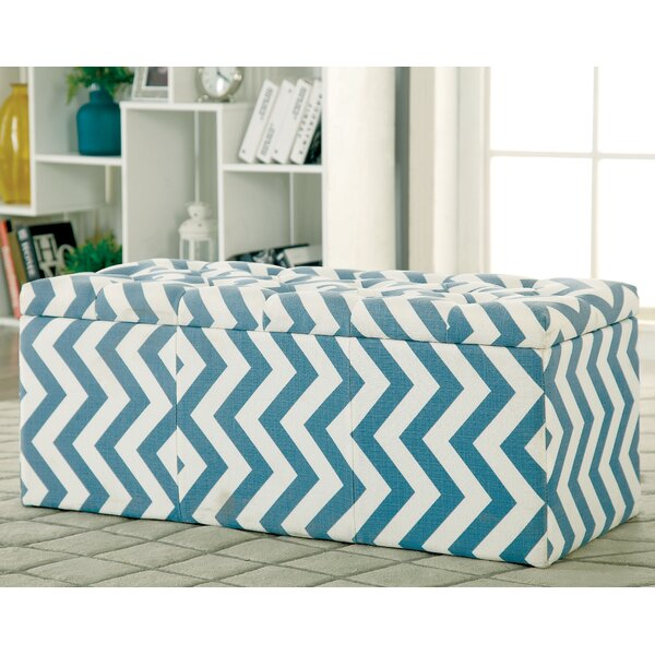 Zarah Upholstered Storage Bench by Latitude Run