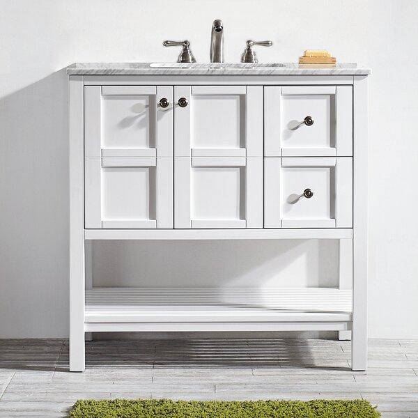Caldwell 36 Single Bathroom Vanity Set by Beachcrest Home
