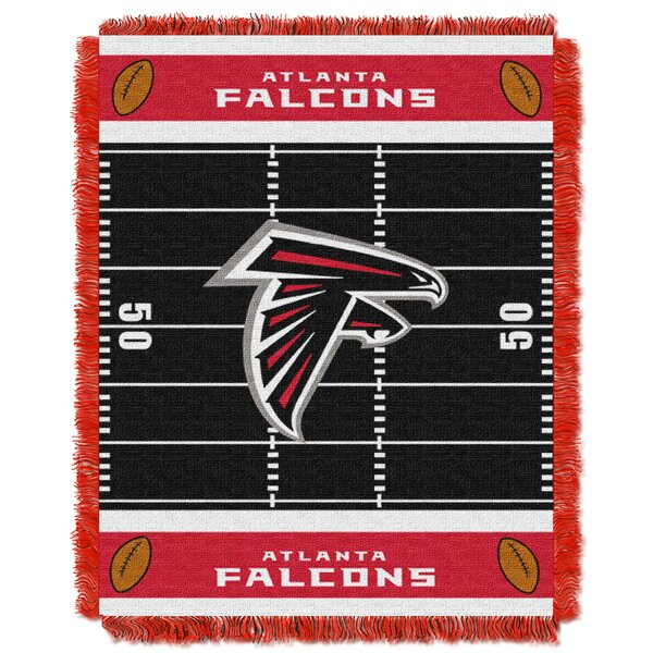NFL Falcons Field Baby Blanket by Northwest Co.