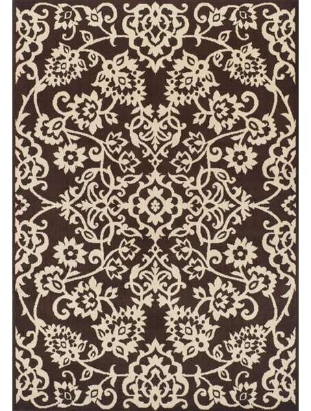 Messina Chocolate/Ivory Area Rug by Dalyn Rug Co.