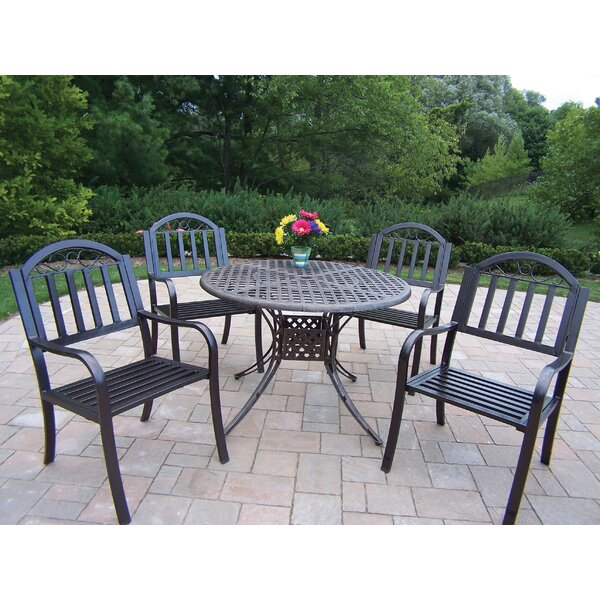 Kingsmill Dining Set by Rosecliff Heights