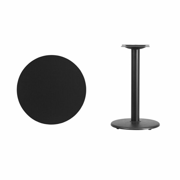 Lois Round Laminate Dining Table by Symple Stuff