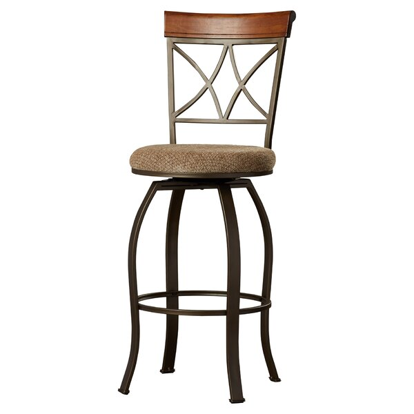 Follmer 29 Swivel Bar Stool by Charlton Home