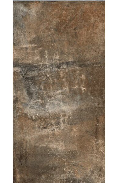 Argile 6 x 12 Porcelain Field Tile in Matte Brown by Tesoro