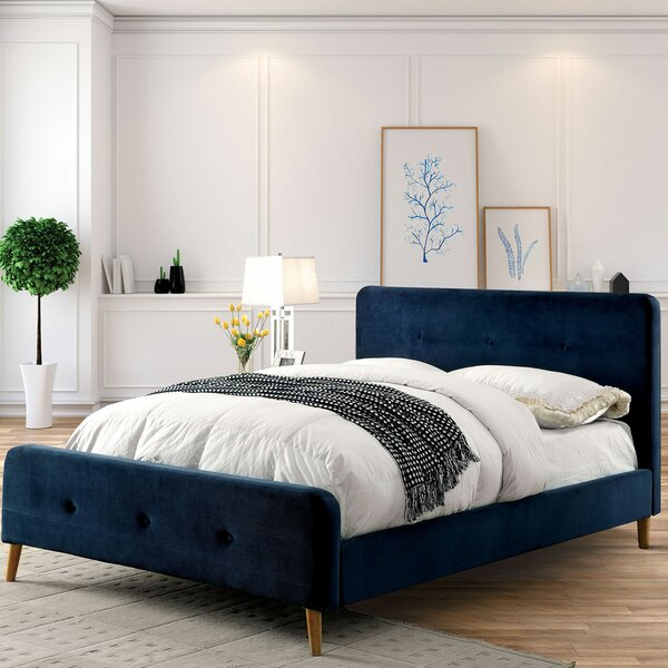 Stockport Upholstered Platform Bed by Corrigan Studio