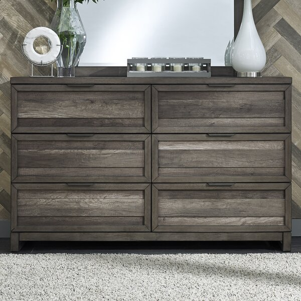 Benitez 6 Drawer Dresser by Union Rustic