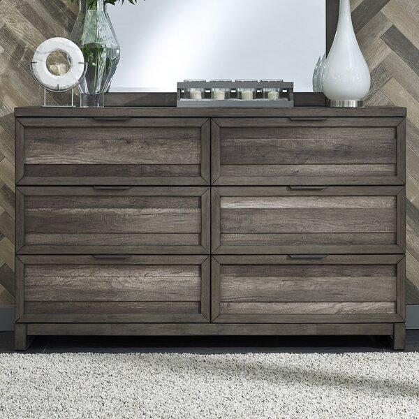 Amazing Benitez 6 Drawer Dresser By Union Rustic 2019 Sale