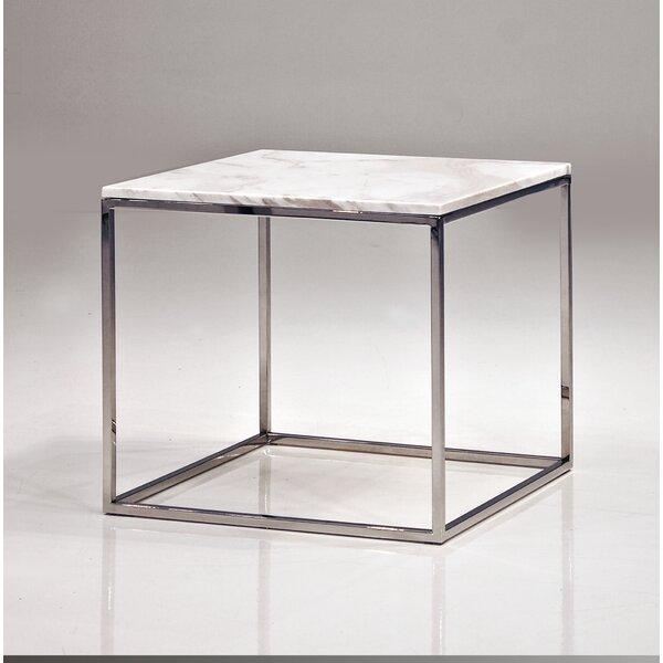 Junaid End Table by Orren Ellis Orren Ellis