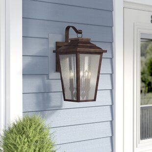 Best Choices Mayhugh 4-Light Outdoor Wall Lantern By Three Posts