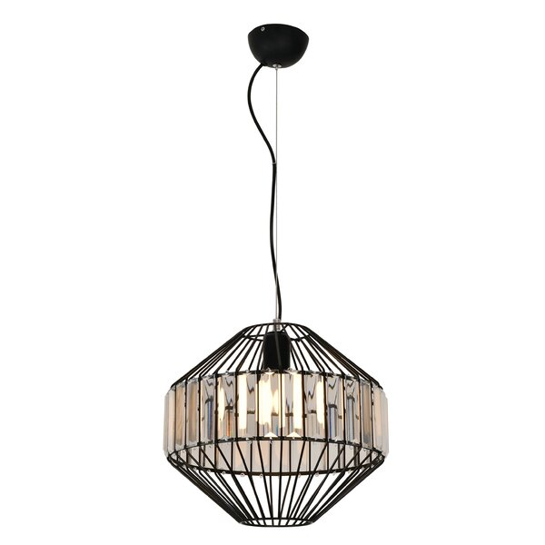 Estee 1 - Light Unique Geometric Chandelier by Brayden Studio Brayden Studio