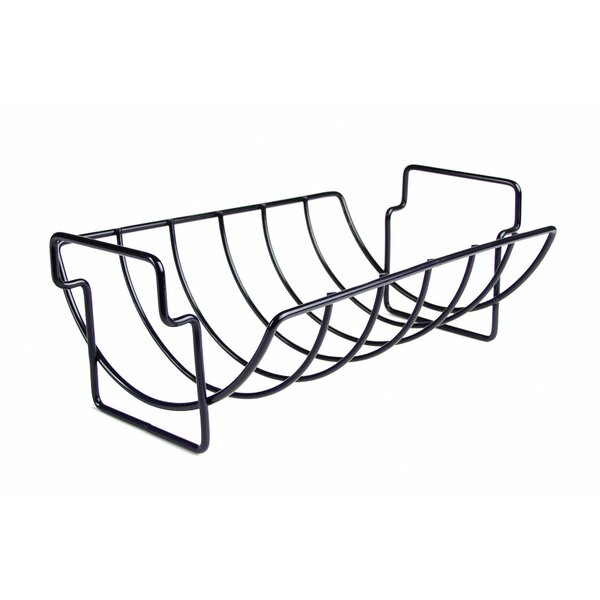 Non-Stick Reversible Roasting / Rib Rack by Charcoal Companion
