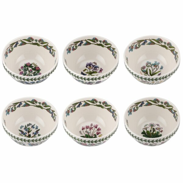 Botanic Garden Cereal Bowl (Set of 6) by Portmeiri