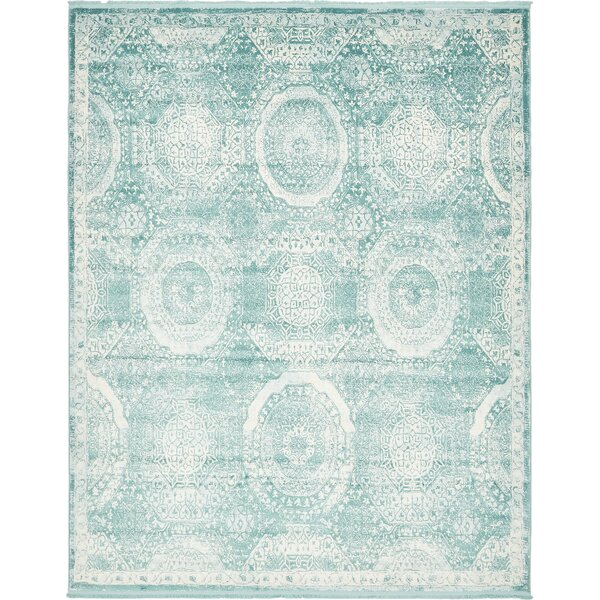 Sherrill Blue Area Rug by Bungalow Rose