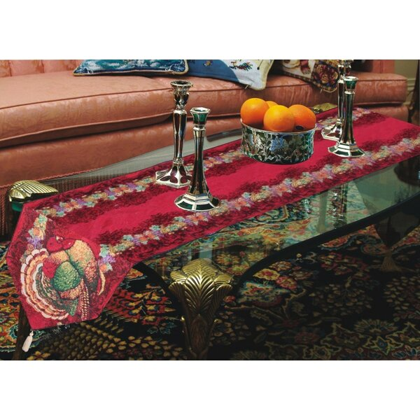 Thanksgiving Table Runner by Violet Linen