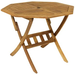 Angela Garden Folding Wooden Dining Table