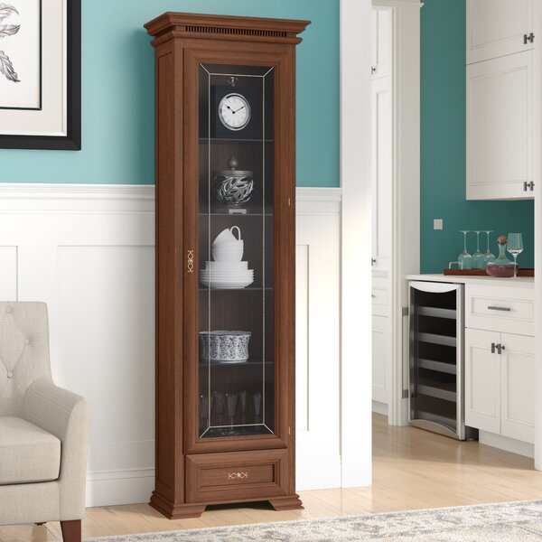 Redwood China Cabinet by Alcott Hill