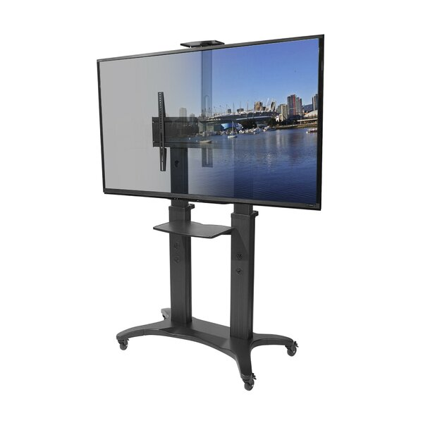 Mobile TV Floor Stand Mount for 55-80 Screens by Kanto