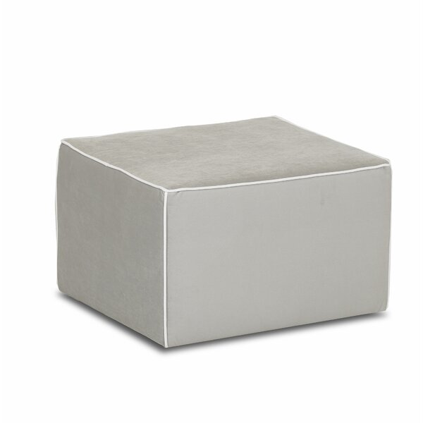 Foote Mini Gliding Cube Ottoman by Klaussner Furniture