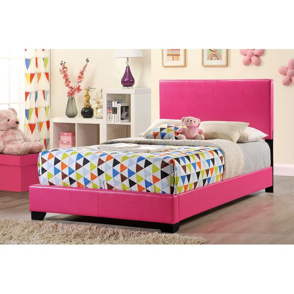 Upholstered Panel Bed by Global Furniture USA