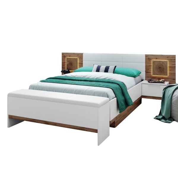 Salerno Queen Platform Configurable Bedroom Set by VVRHomes
