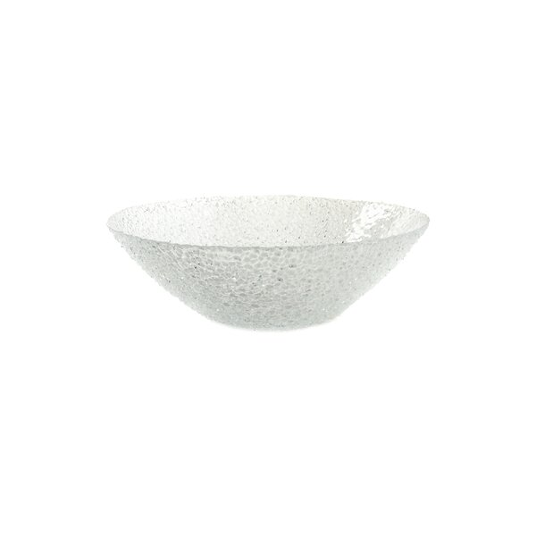 Diamond Glass Bowl (Set of 4) by IMPULSE!