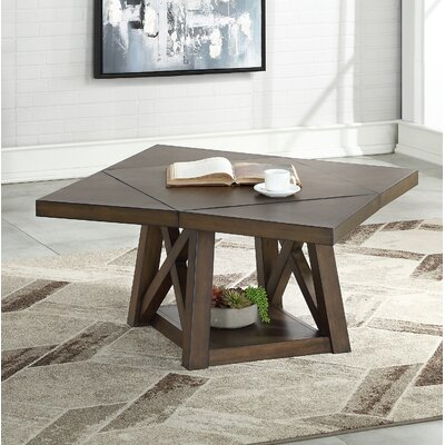 Breakwater Baysolid Wood Coffee Table With Storage Breakwater Bay Dailymail