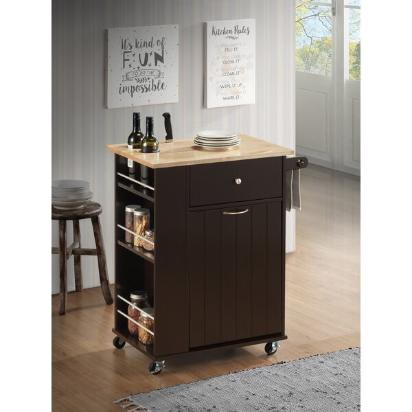 Tarsha Kitchen Cart by Winston Porter