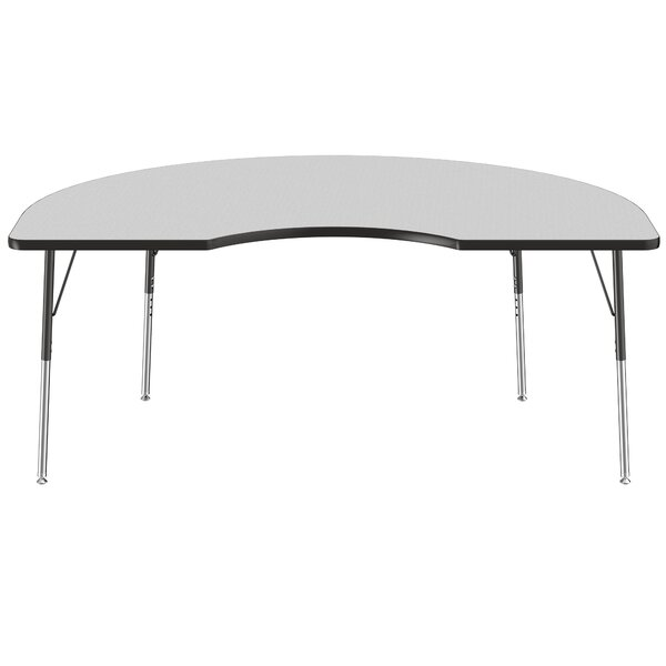 Kidney Thermo-Fused Adjustable 48 x 72 Activity Table by ECR4kids