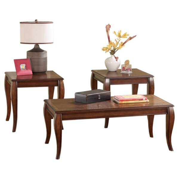 Corrie 3 Piece Coffee Table Set by Signature Desig