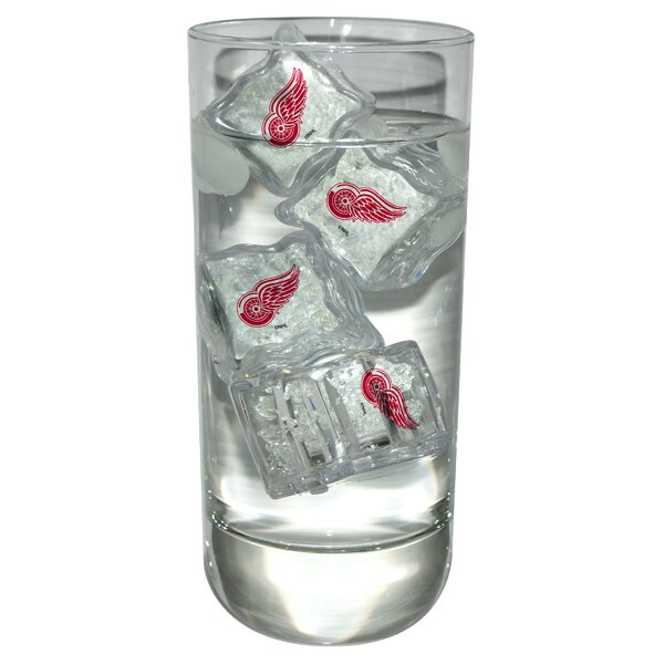 NHL Light Up Ice Cubes (Set of 4) by Team Sports America