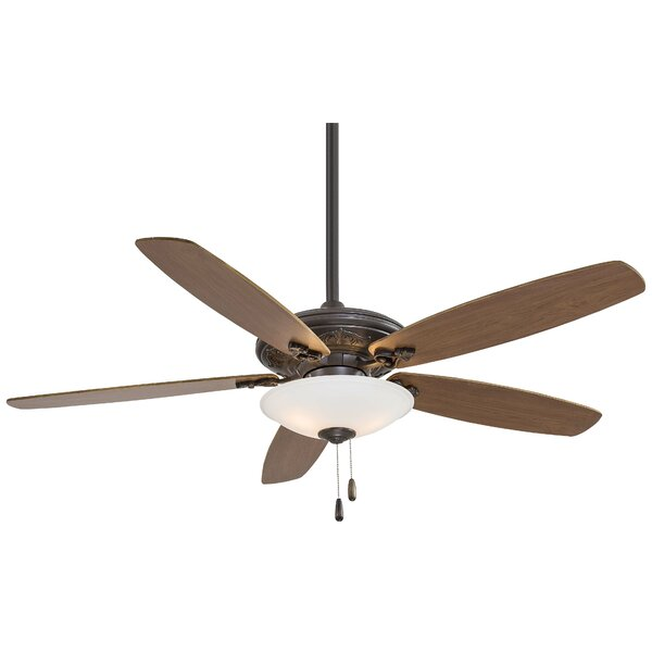 52 Traditional Mojo 5 Blade LED Ceiling Fan by Minka Aire