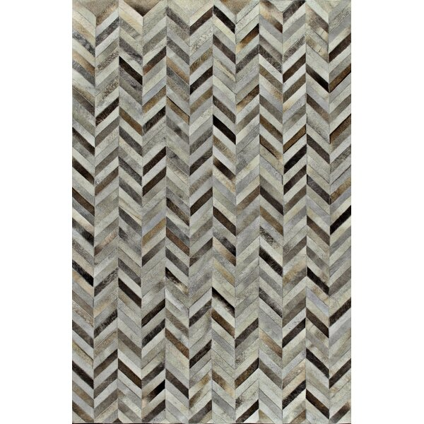Sari Silkhand Woven Black/Gray Area Rug by Bashian