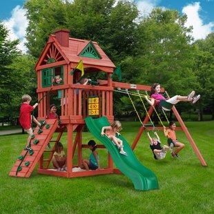 Backyard Play Structure backyard play you'll love | wayfair