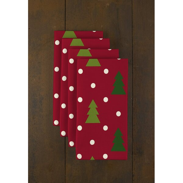 Christmas Trees 18 Napkins (Set of 12) by Fabric T