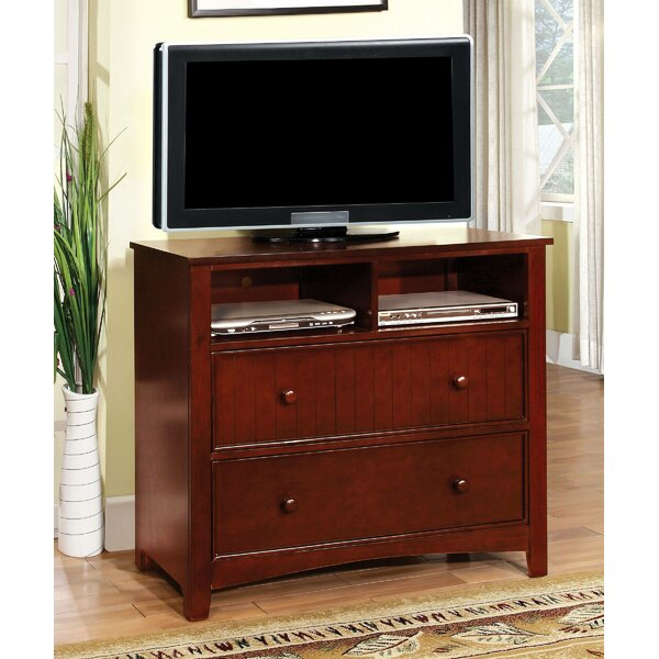 Finkelstein Media 2 Drawer Dresser By Darby Home Co
