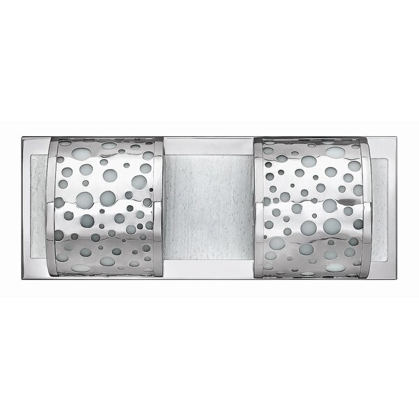 Mira 2-Light Bath Bar by Fredrick Ramond