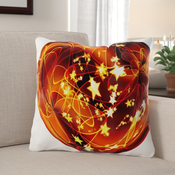 Kirbyville Heart Indoor/Outdoor Canvas Throw Pillow